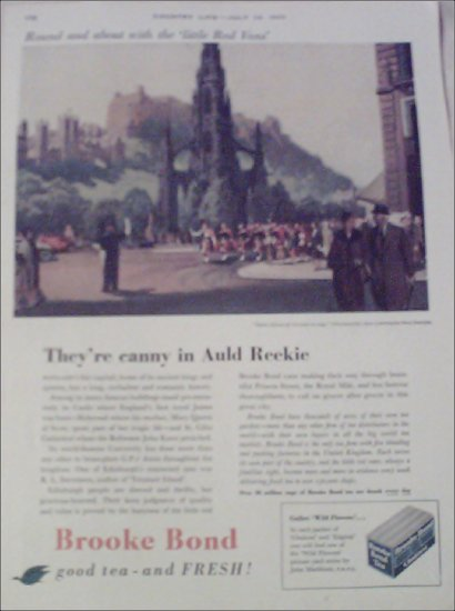 1955 Brooke Bond Tea ad from the UK