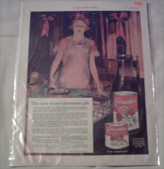 1926 Carnation Milk ad