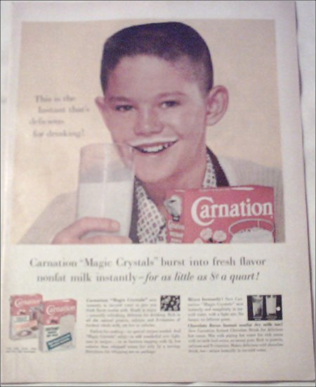1960 Carnation Milk ad #1