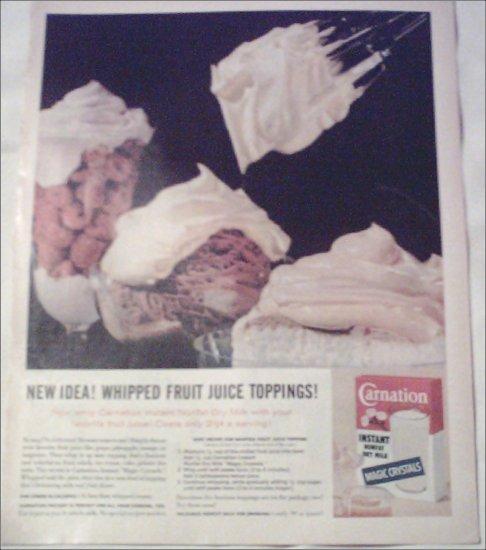 1961 Carnation Milk ad #4