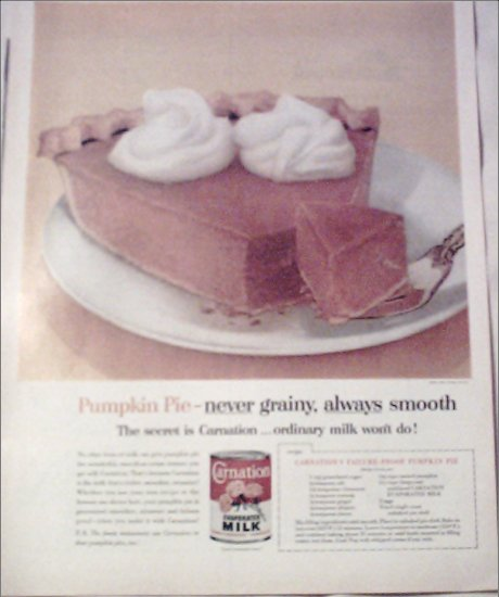 1962 Carnation Milk ad #1