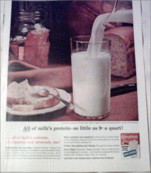 1964 Carnation Milk ad