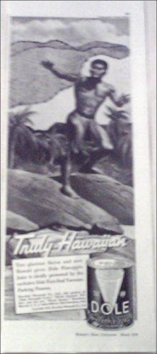 1938 Dole Pineapple Juice ad #1