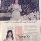 1970 Florida Orange Juice ad featuring Anita Bryant