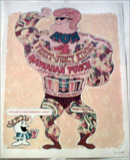1966 Hawaiian Punch ad