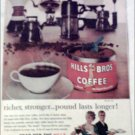 1960 Hills Bros Coffee ad
