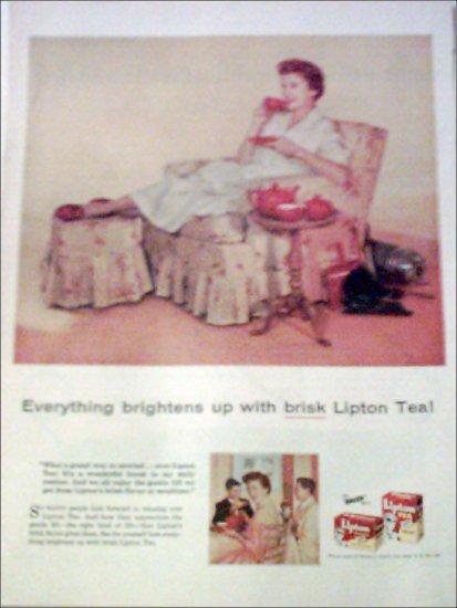 Lipton Tea ad #1