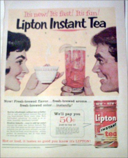 Lipton Tea ad #2