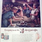 1950 Maxwell House Coffee ad #1