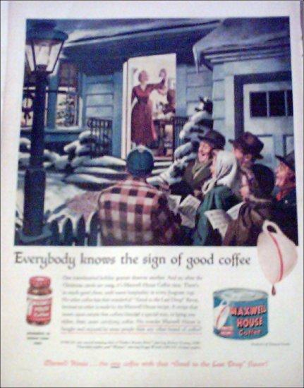 1950 Maxwell House Coffee ad #2