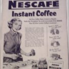 1952 Nescafe Coffee ad #1