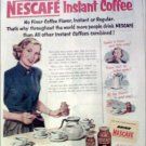 1952 Nescafe Coffee ad #2