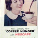 1956 Nescafe Coffee ad