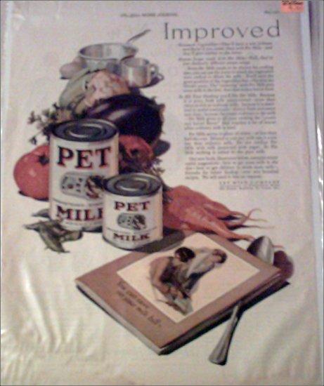 1927 Pet Milk ad