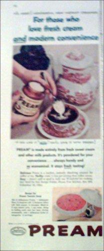1956 Pream Creamer ad