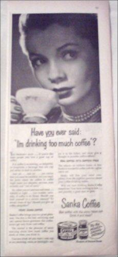 1950 Sanka Coffee ad