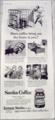 1951 Sanka Coffee ad #2