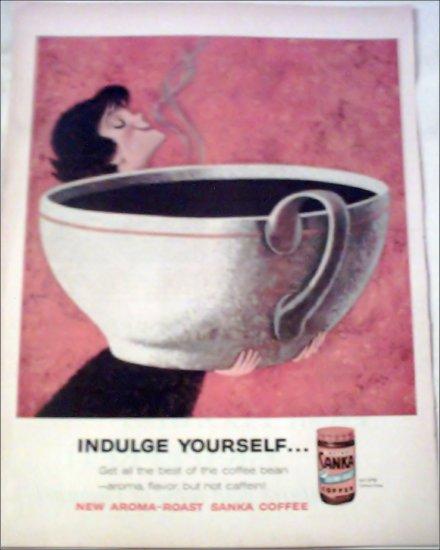1960 Sanka Coffee ad #1