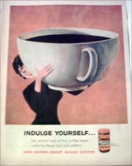 1960 Sanka Coffee ad #2