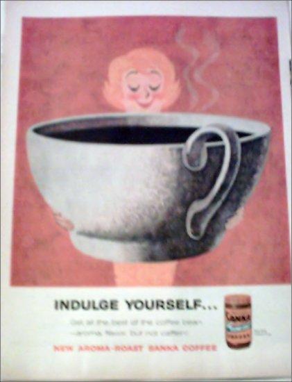 1960 Sanka Coffee ad #5
