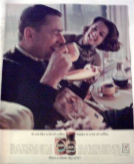 1964 Sanka Coffee ad #1