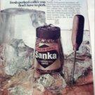 1969 Sanka Coffee ad