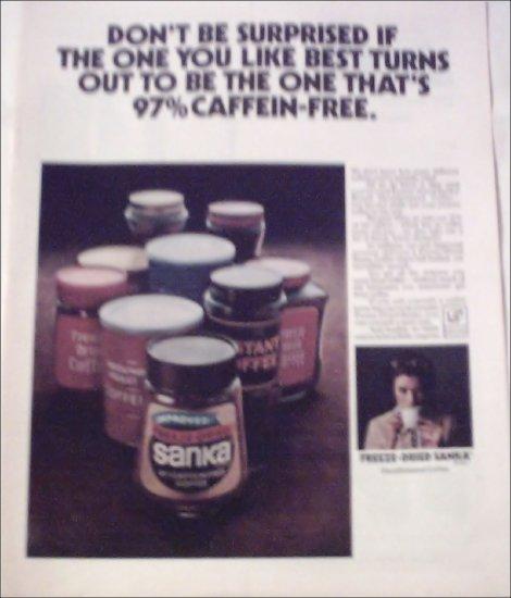 1972 Sanka Coffee ad #1