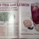 1960 Sunkist Tea Contest ad