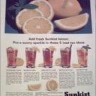 1965 Sunkist Tea ad