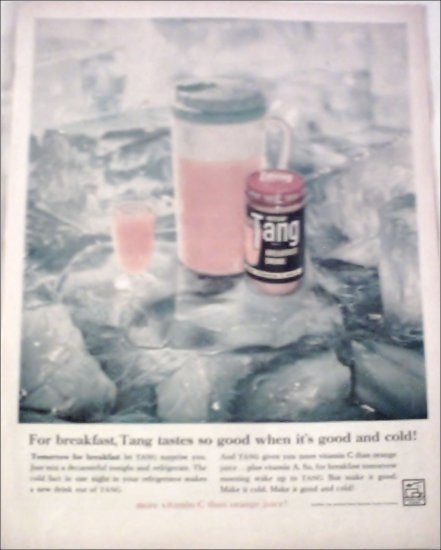 1960 Tang Orange Juice ad #2