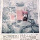 1961 Tang Orange Juice ad