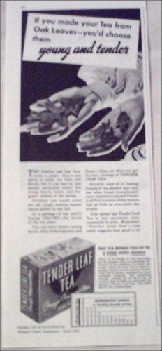 1936 Tender Leaf Tea ad