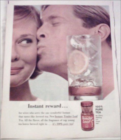 1963 Tender Leaf Tea ad #2