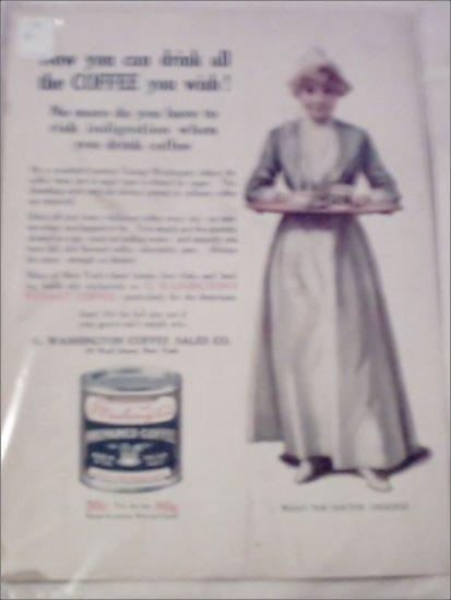 1914 G. Washingtons Instant Coffee ad