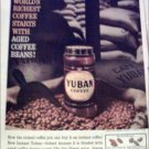 1960 Yuban Coffee ad