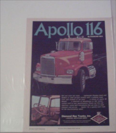 1973 Apollo 116 Truck ad