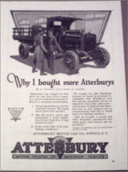 1919 Atterbury Stakebody Truck ad