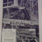 1924 Autocar Dump Truck ad