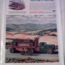WW II Autocar C-70-T Tractor Trailer Truck ad