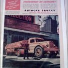 1945 Autocar Airco Oxygen Truck ad