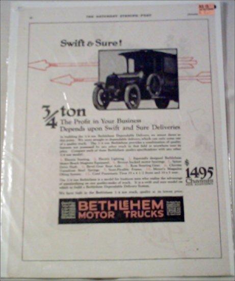 1920 Bethlehem Truck ad #2