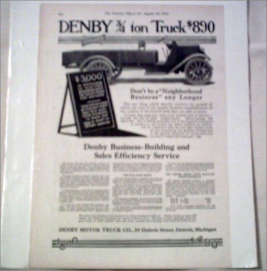 1915 Denby Truck ad #1