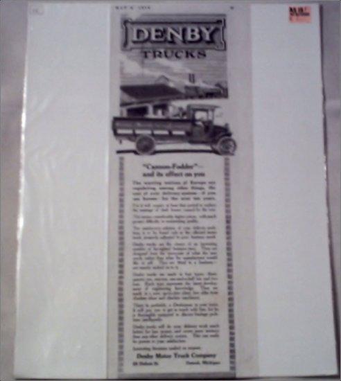 1915 Denby Truck ad #2