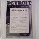 1919 Detroit Truck ad