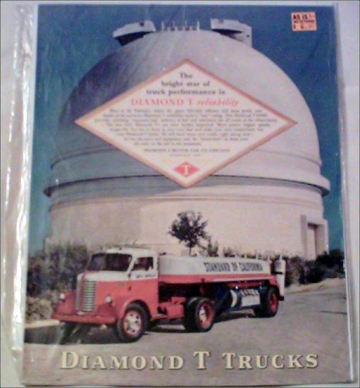 1947 Diamond T Tanker Tractor Trailer Truck at Mt Palomar ad