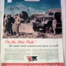 1943 Diamond T Military Truck ad