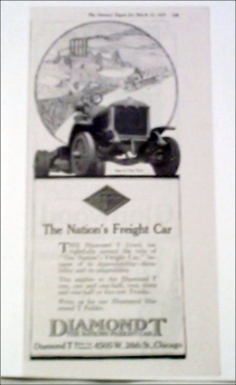 1919 Diamond T Truck ad #4