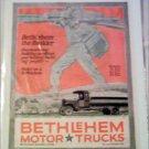 1920 Bethlehem Truck ad #1