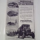 1918 Federal Truck ad #1