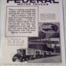 1924 Federal Truck ad